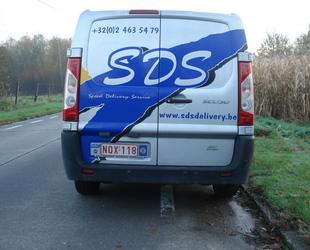 SDS Delivery - VAN tot 500kg of 1 Europallet