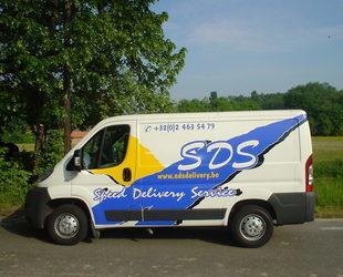 SDS Delivery - TRUCK 8m³ vanaf 0,50€/km